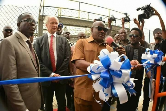 "Wike Commissions MV ""Rivers Pride"""