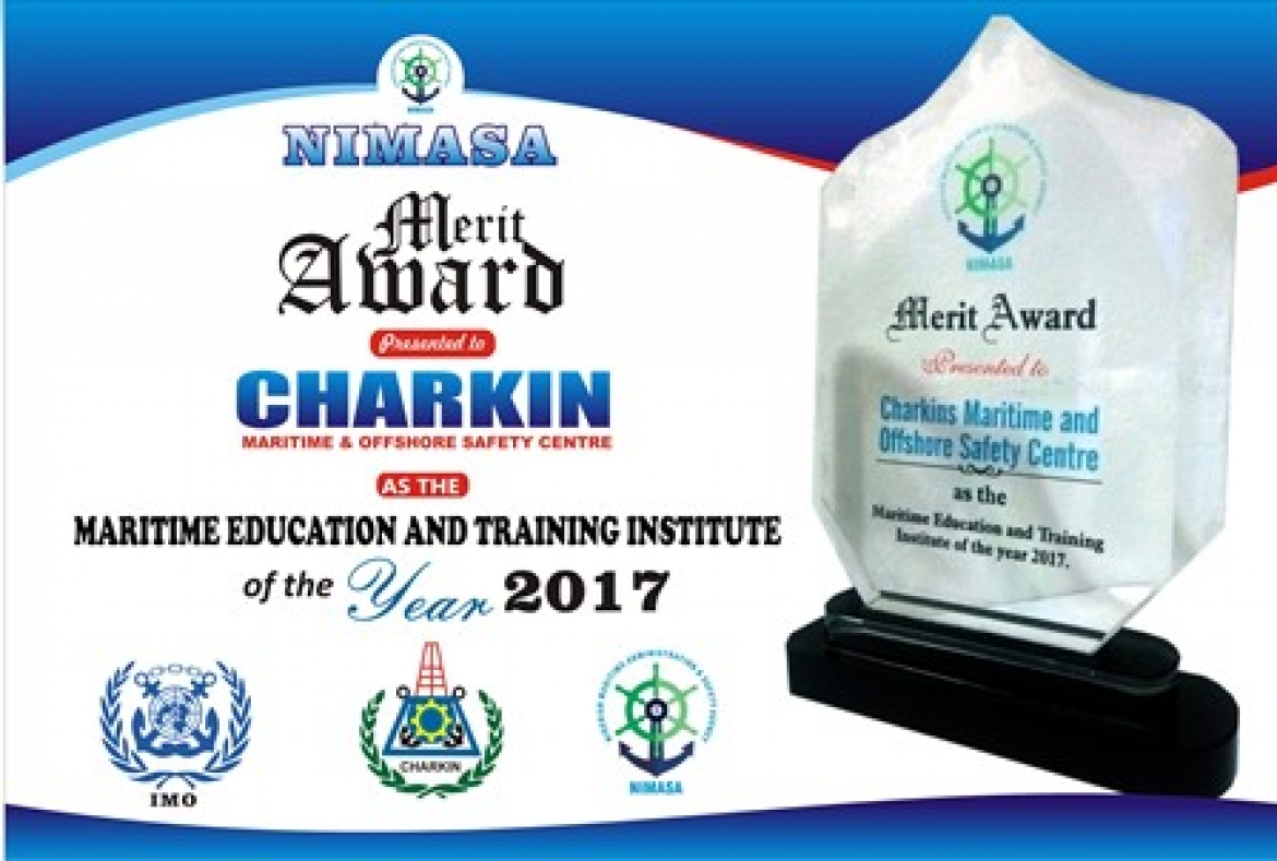 Award as the Best Maritime Education and Training Institute 2017